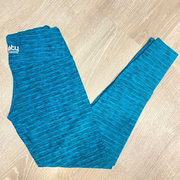 Outside The Lines Teal Legging Booty By Brabants